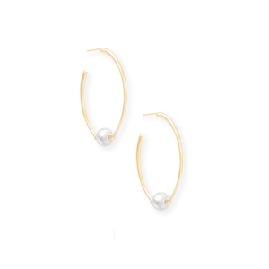KENDRA SCOTT REGINA EARRINGS IN GOLD