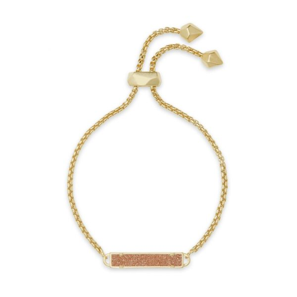 KENDRA SCOTT STAN BRACELET IN GOLD