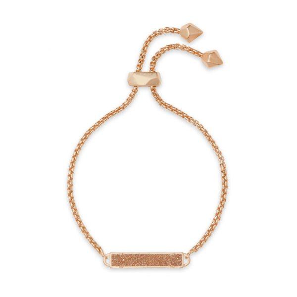 KENDRA SCOTT STAN BRACELET IN ROSE GOLD