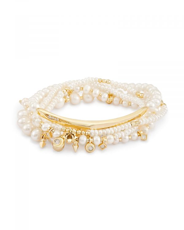 KENDRA SCOTT SUPAK BEADED BRACELET