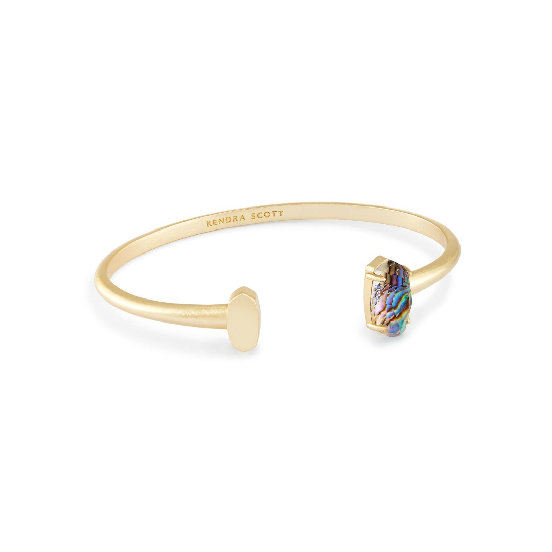 KENDRA SCOTT VADA BRACELET IN GOLD