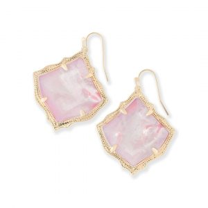 KENDRA SCOTT KIRSTEN EARRINGS IN GOLD