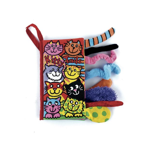 JELLY CAT KITTEN TAILS BOOK