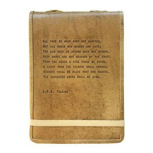 LEATHER JOURNAL - JRR TOLKIEN