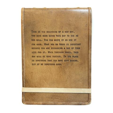 LEATHER JOURNAL - THE BEGINNING