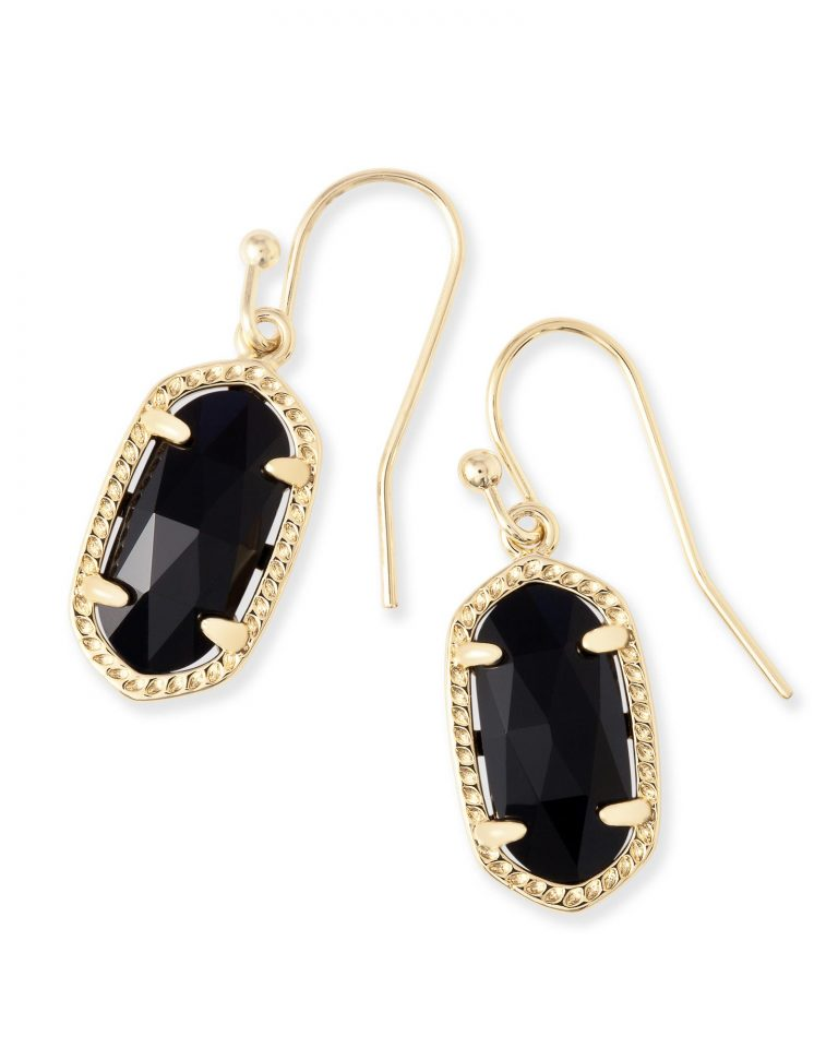 KENDRA SCOTT LEE EARRINGS IN GOLD