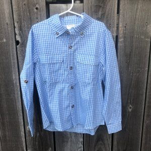 PRODOH LIGHT BLUE GINGHAM SHIRT