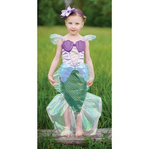 LILAC MERMAID DRESS WITH HEADBAND