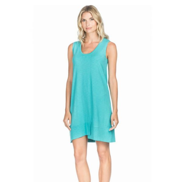 LILLA P ARUBA RIB HEM DRESS