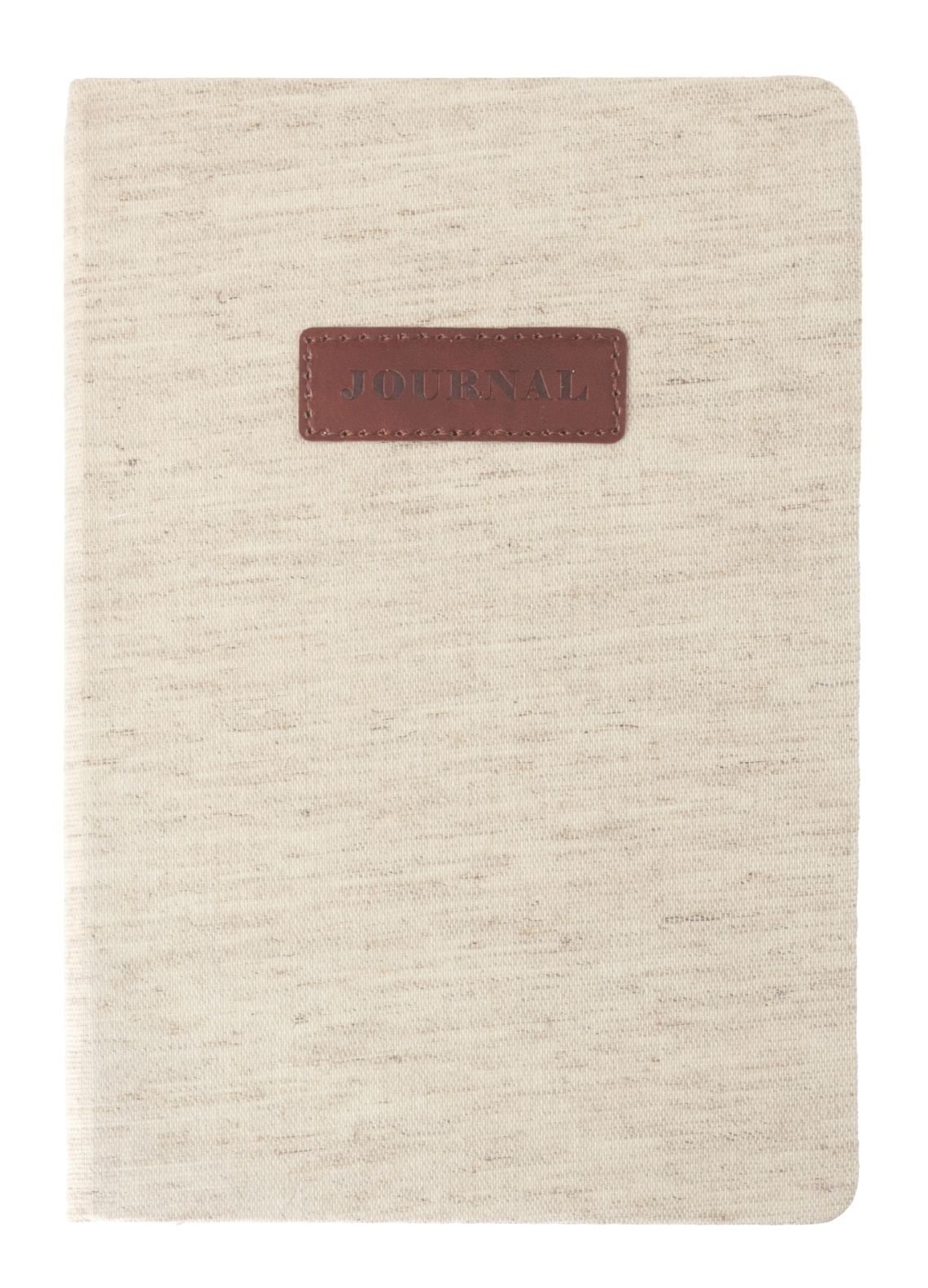 LINEN PLAQUE STYLE JOURNAL