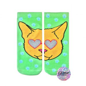 LIVING ROYAL CATWALK GLITTER ANKLE SOCKS