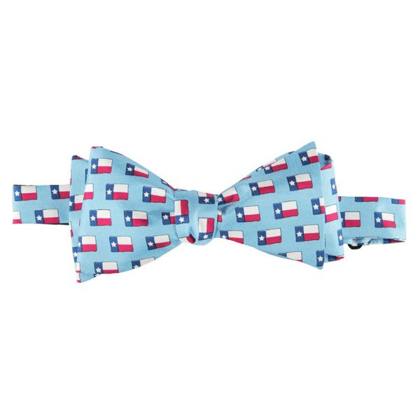 LONE STAR FLAG BOW TIE