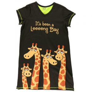 LONG DAY GIRAFFE NIGHTSHIRT