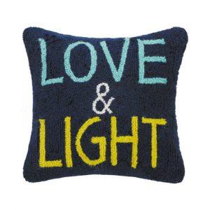 LOVE & LIGHT HOOK PILLOW