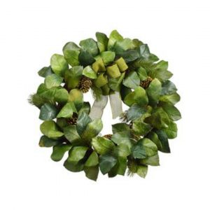MAGNOLIA PINECONE WREATH