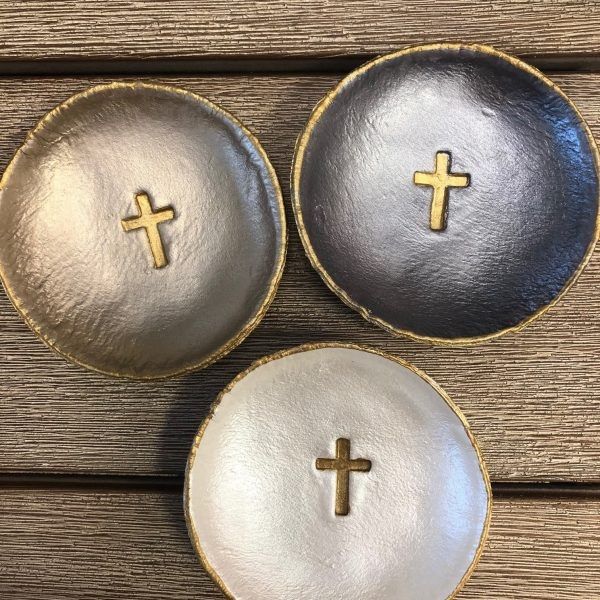 MEDIUM CROSS BLESSING BOWLS