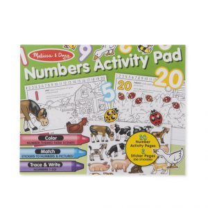 MELISSA AND DOUG NUMBERS ACTIVITY PAD