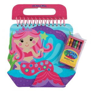 STEPHEN JOSEPH MERMAID SKETCH PAD