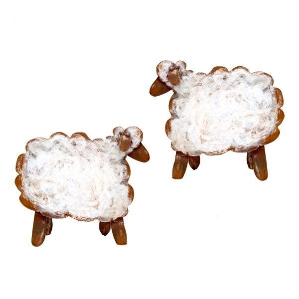 MINI JEWELED NATIVITY SHEEP