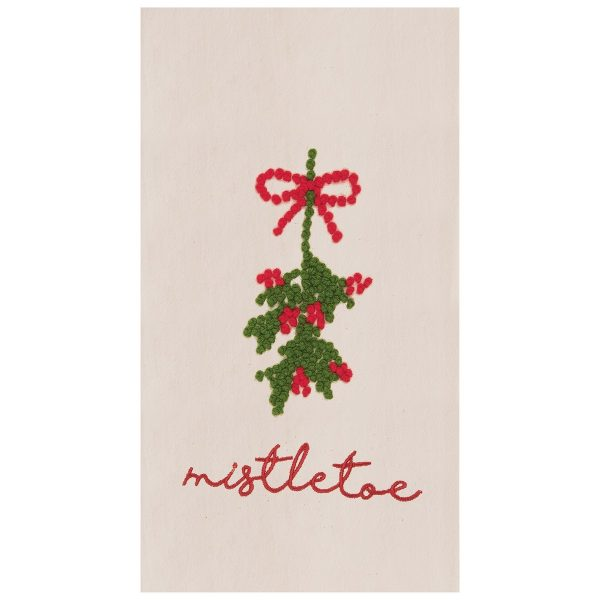 MISTLETOE BERRIES TOWEL