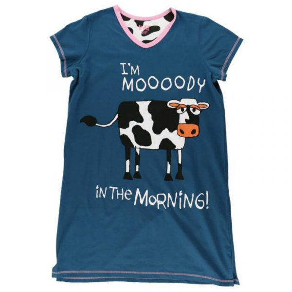 MOOODY IN THE MORNING NIGHTSHIRT