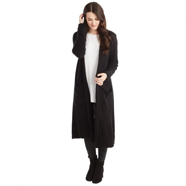 MUDPIE BLACK ANNISTON CARDIGAN