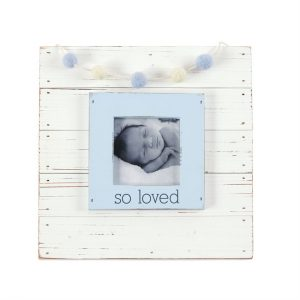 MUDPIE BLUE SO LOVED FRAME