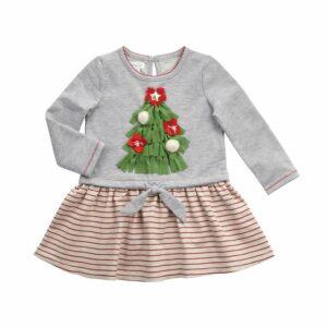 MUDPIE CHRISTMAS TREE TIE DRESS