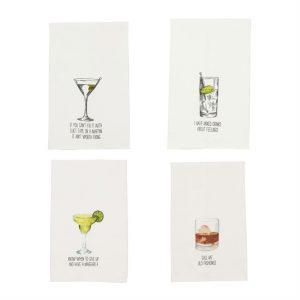 MUDPIE DRINK DISH TOWELS