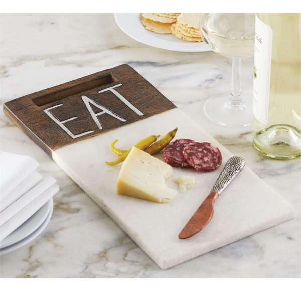 MUDPIE EAT MARBLE BOARD SET