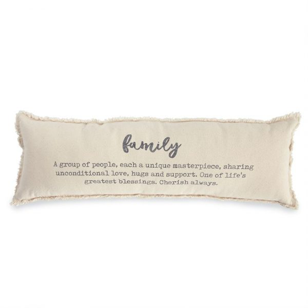 MUDPIE FAMILY DEFINITION PILLOW