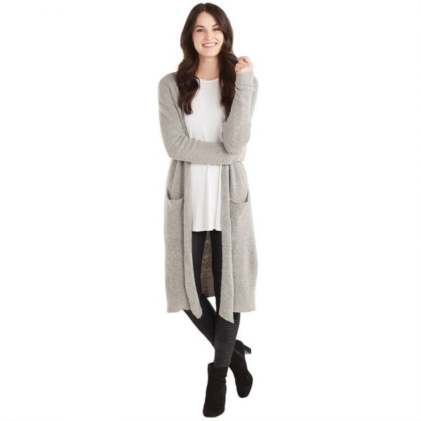 MUDPIE GRAY ANNISTON CARDIGAN