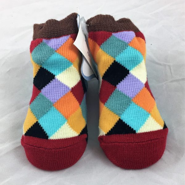 MUDPIE LITTLE GENTS DIAMOND SOCKS