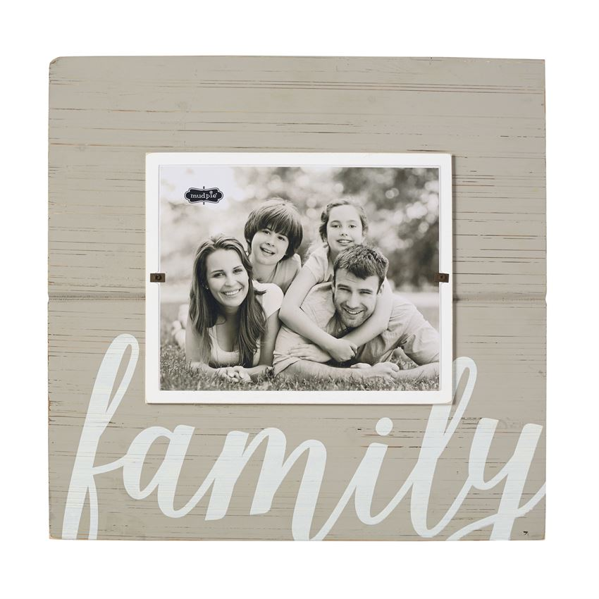 MUDPIE OUR FAMILY FRAME