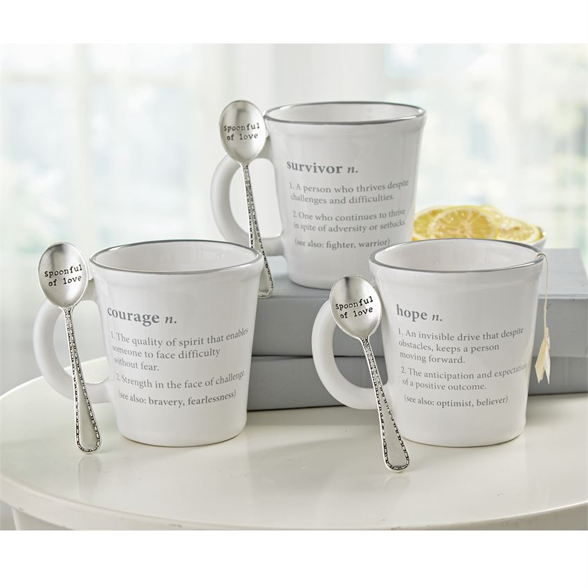 MUDPIE PAZITIVE DEFINITION MUGS