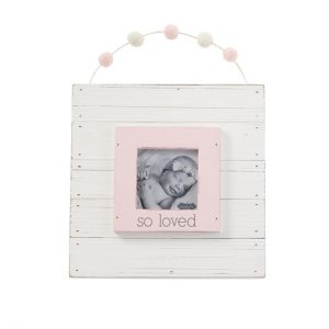 MUDPIE PINK SO LOVED FRAME