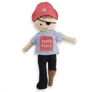MUDPIE PIRATE TOOTH FAIRY DOLL