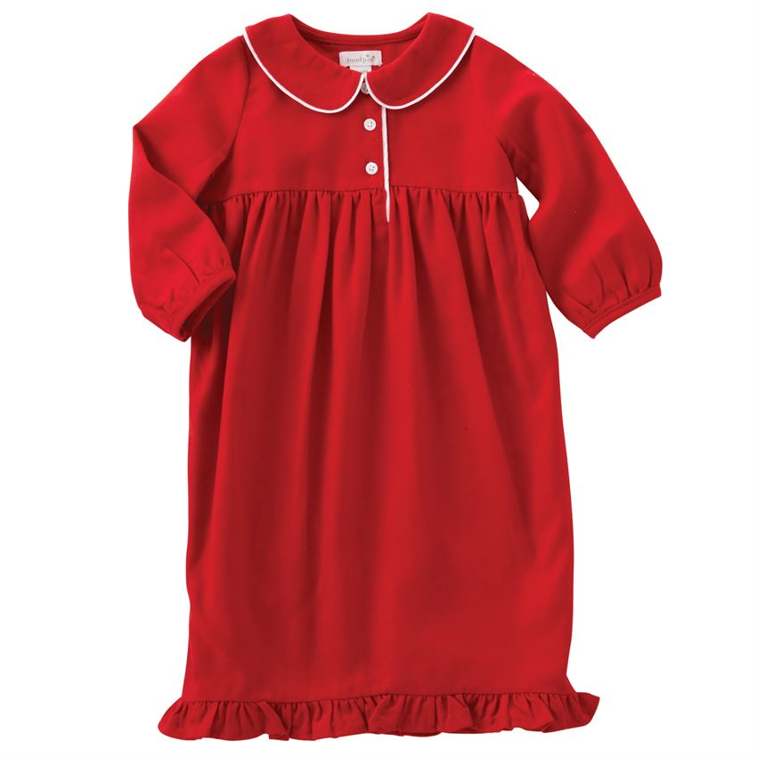 MUDPIE RED TODDLER NIGHT GOWN