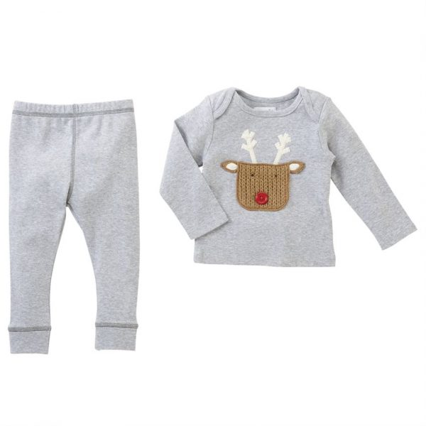 MUDPIE REINDEER POCKET SET