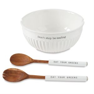MUDPIE SALAD BOWL SET
