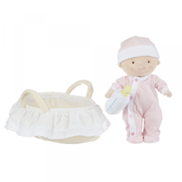 MY FIRST BABY DOLL WITH BASSINET