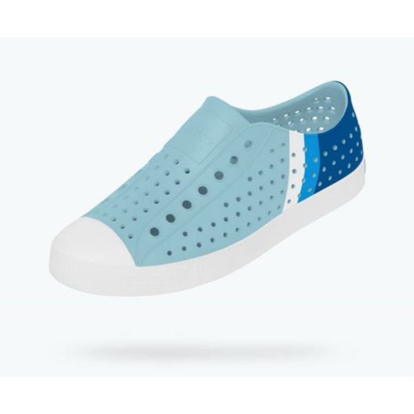 NATIVE SHOES JEFFERSON SKY BLUE BLOCK