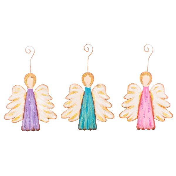 NATIVITY ANGEL ORNAMENTS