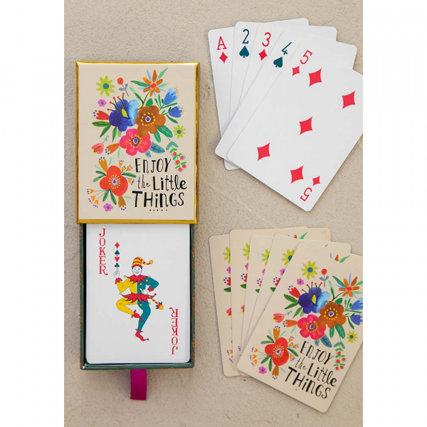 NATURAL LIFE ENJOY THE LITTLE THINGS PLAYING CARDS