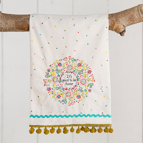 NATURAL LIFE GOOD TO BE HOME HAND TOWEL
