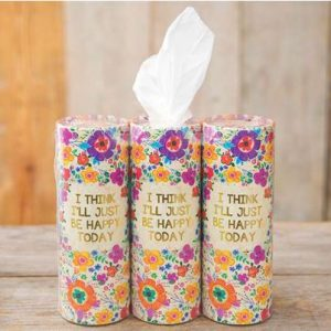 NATURAL LIFE JUST BE HAPPY CAR TISSUES