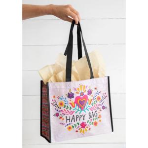 NATURAL LIFE PINK HEART HAPPY BAG GIFT BAG