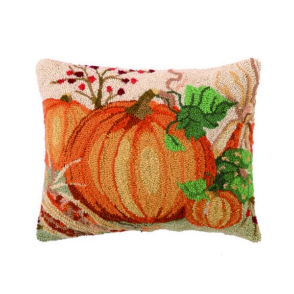 NATURE'S HARVEST HOOK PILLOW