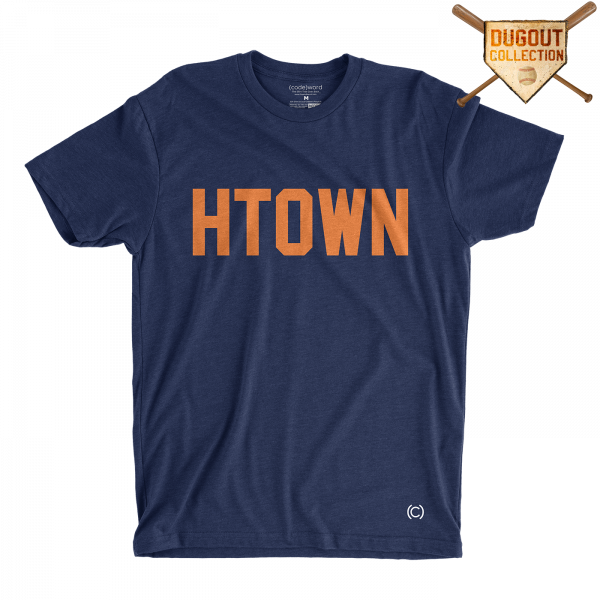 NAVY H-TOWN SHIRT