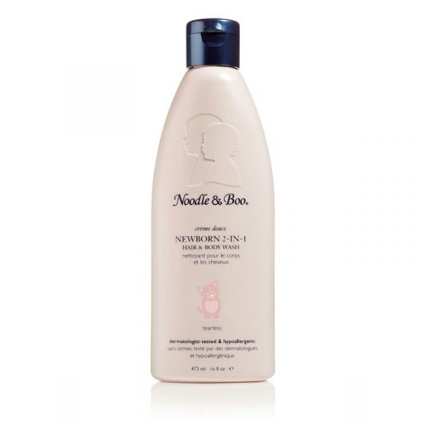 NOODLE AND BOO NEWBORN 2-IN-1 HAIR AND BODY WASH